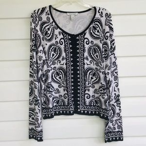 WHBM cardigan sweater xl  button front